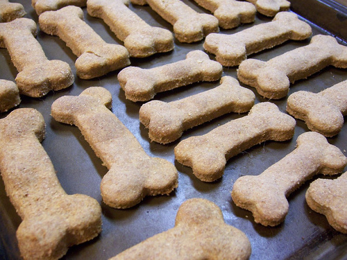 Ingredients for dog treats